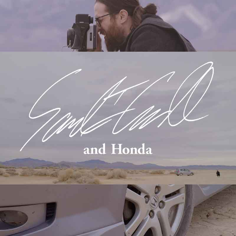 HONDA 「Me and Honda」  #0042 Sam, an LA-based photographer