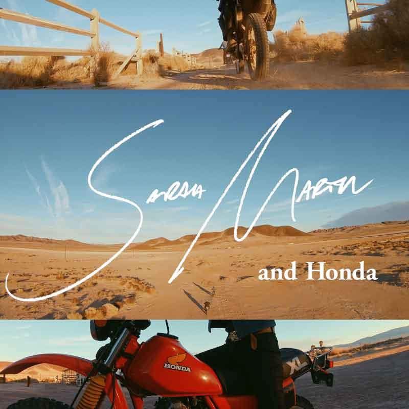 HONDA 「Me and Honda」 #0045 バイクと自由を愛するふたりの、疾走する砂漠旅。