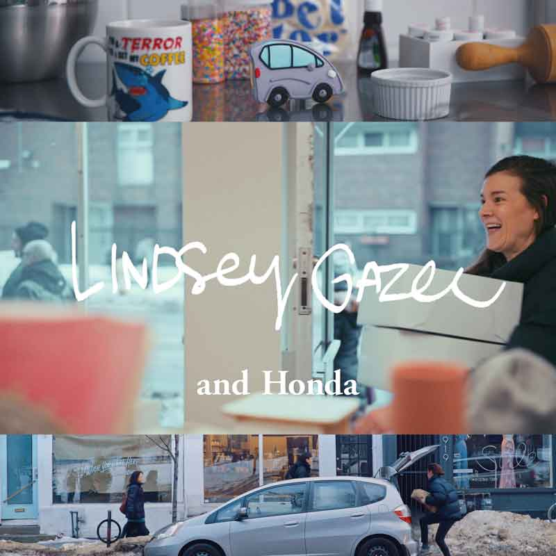 HONDA 「Me and Honda」 #0046 Delivering happiness – Toronto baker Lindsey