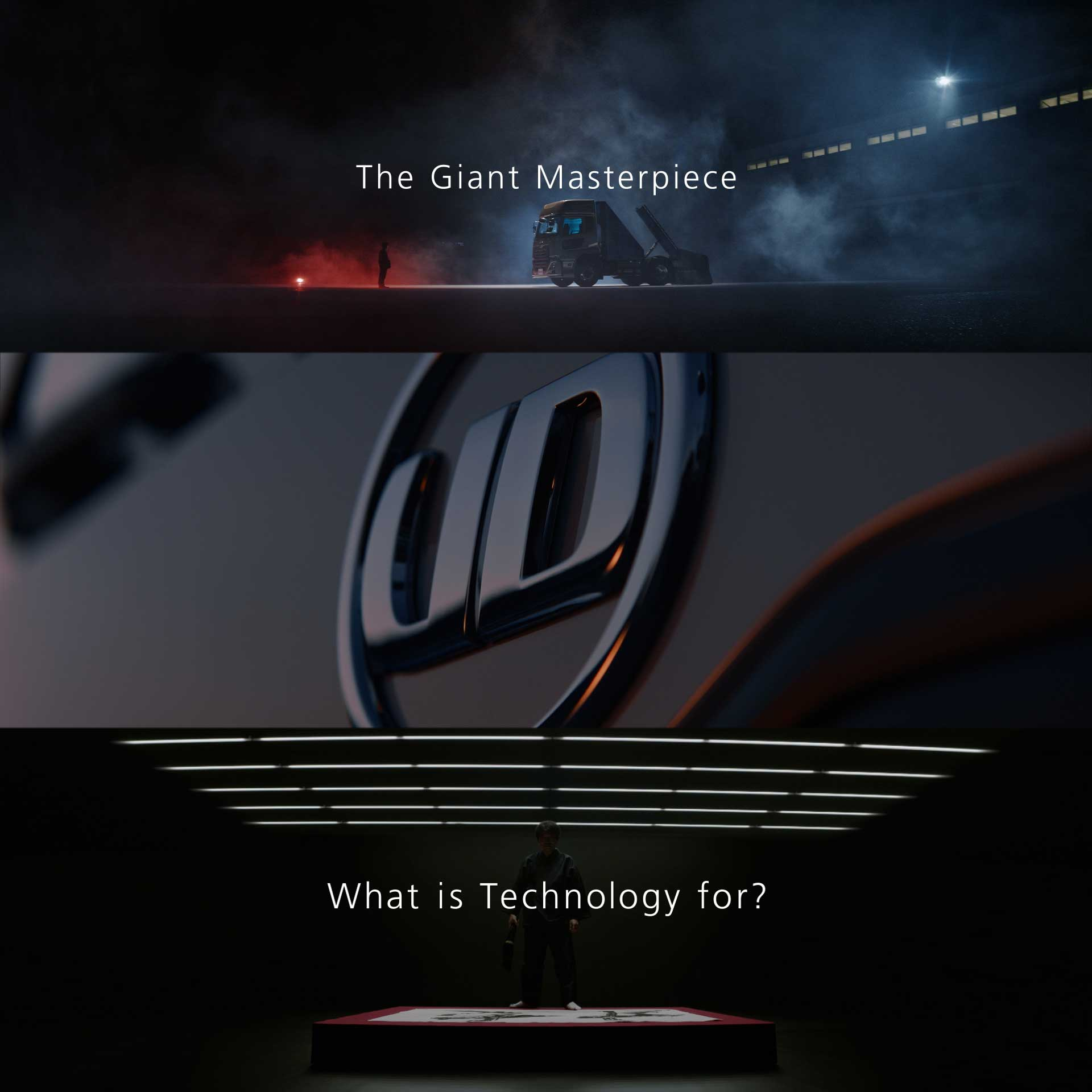 UD Trucks – The Giant Masterpiece – 世界最大級トラック書道に挑戦